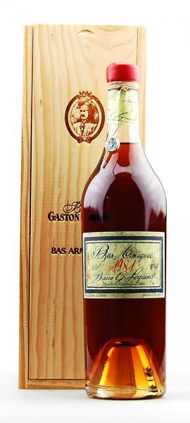 Armagnac 1981 Bas-Armagnac Baron Gaston Legrand