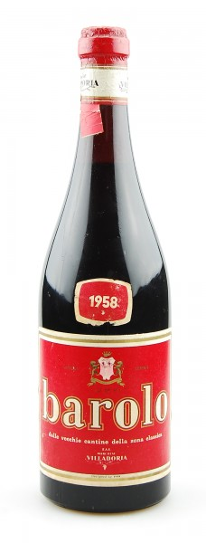 Wein 1958 Barolo Marchese Villadoria (red label)