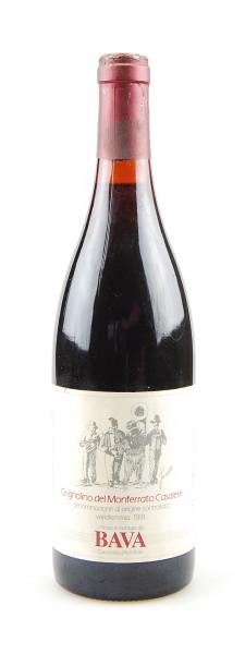 Wein 1991 Grignolino del Monferrato Casalese Bava