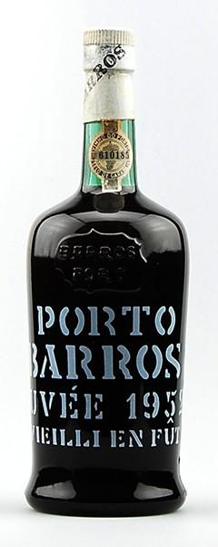 Portwein 1952 Barros Cuvee