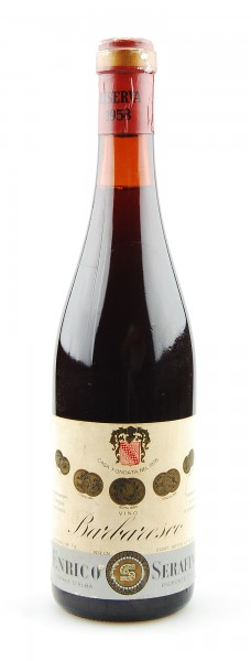 Wein 1958 Barbaresco Riserva Enrico Serafino