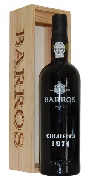 Portwein 1974 Barros Colheita