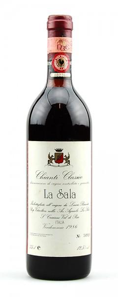 Wein 1986 Chianti Classico La Sala