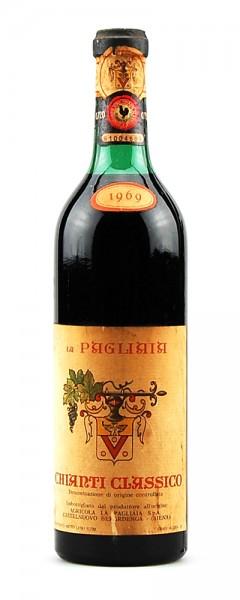 Wein 1969 Chianti Classico La Pagliaia