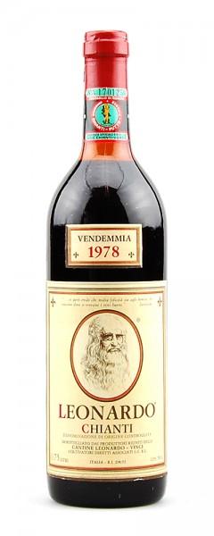 Wein 1978 Chianti Classico Leonardo - Vinci
