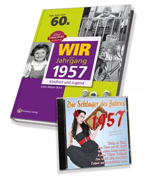Zeitreise 1957 - Wir vom Jahrgang & Schlager 1957