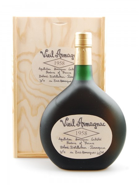 Armagnac 1958 Armagnac Vieil Delord