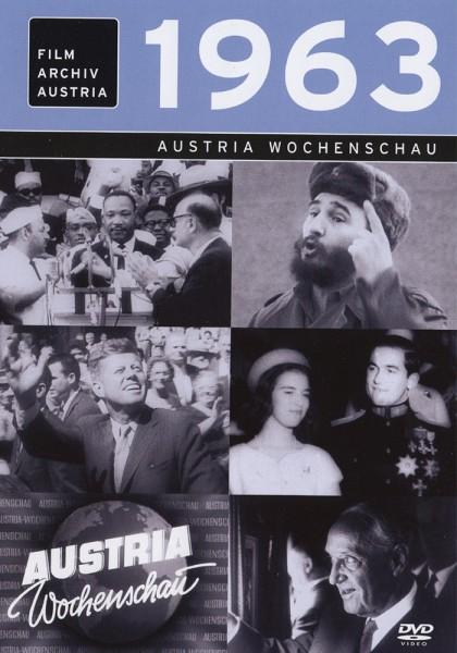 DVD 1963 Chronik Austria Wochenschau in Holzkiste