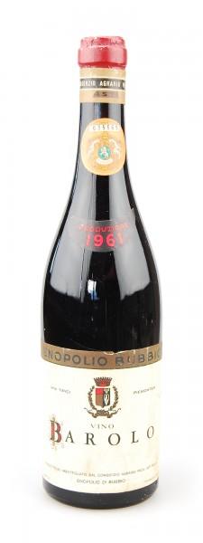 Wein 1961 Barolo Enopolio di Bubbio