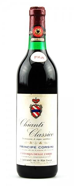 Wein 1968 Chianti Classico Fattoria delle Corti
