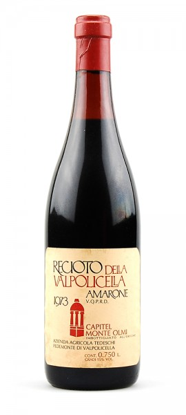 Wein 1973 Amarone Tedeschi Recioto della Valpolicella