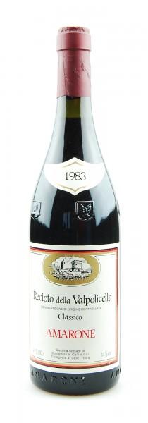 Wein 1983 Amarone Recioto della Valpolicella Colognola