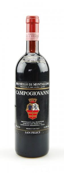 Wein 1987 Brunello di Montalcino Campogiavanni