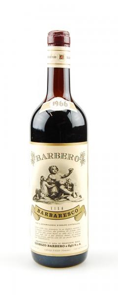 Wein 1966 Barbaresco Giorgio Barbero
