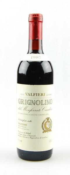 Wein 1987 Grignolino del Monferrato Casalese Valfieri