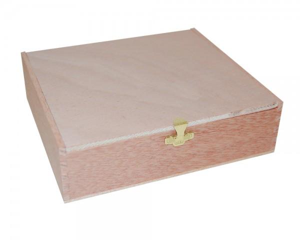 Holzkiste für ihr CD Geschenk