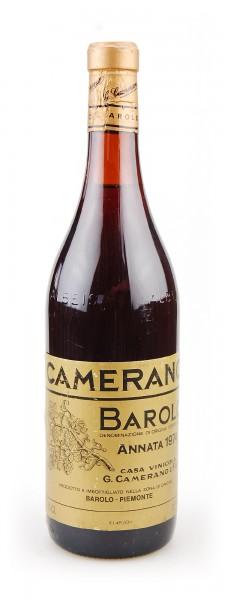 Wein 1974 Barolo Camerano Gold