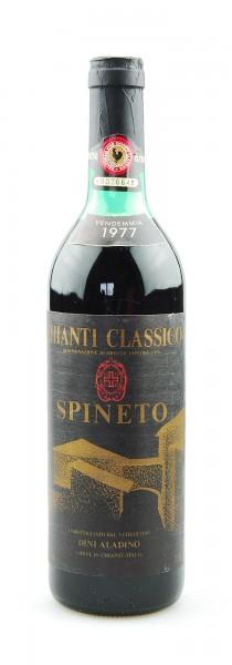 Wein 1977 Chianti Classico Spineto
