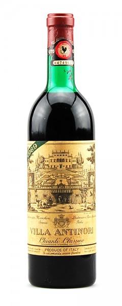 Wein 1969 Chianti Classico Villa Antinori