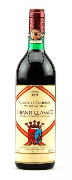 Wein 1969 Chianti Classico Castello di Castelvari