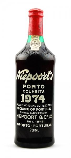 Portwein 1974 Niepoort Colheita