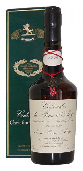 Calvados 1986 Christian Drouin Pay´s d´Auge
