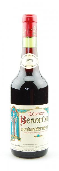 Wein 1973 Reserve Benoit XII Chateauneuf-du-Pape