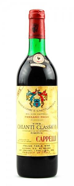 Wein 1973 Chianti Classico Riserva Montagliari Cappelli