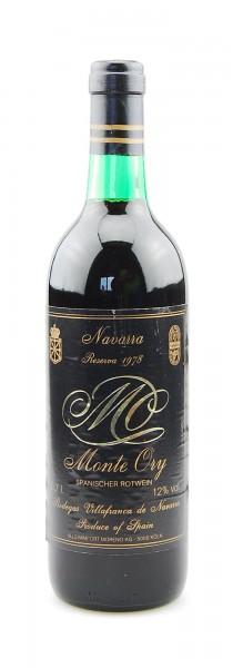 Wein 1978 Monte Ory Reserva