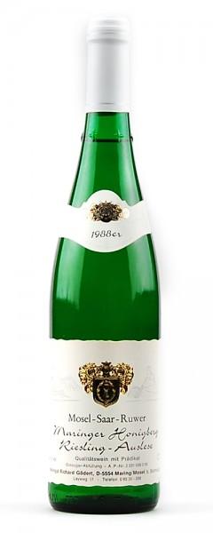 Wein 1988 Maringer Honigberg Riesling Auslese
