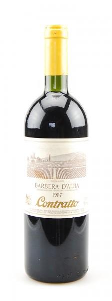 Wein 1987 Barbera d´Alba Giuseppe Contratto