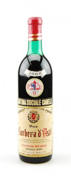 Wein 1966 Barbera d´Asti Cantina Sociale