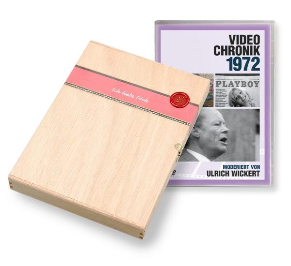 DVD 1972 Chronik Deutsche Wochenschau in Holzkiste