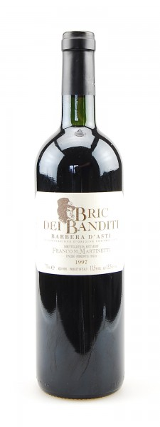 Wein 1997 Barbera d´Asti Bric dei Banditi F. Martinetti