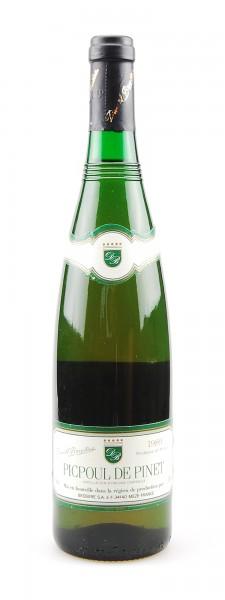 Wein 1989 Picpoul de Pinet Blanc