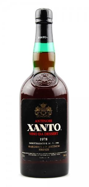 Wein 1978 Antinori Xanto Vino da Dessert Antinori