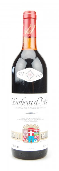 Wein 1977 Barbera d´Asti Vignaiole Piemontesi