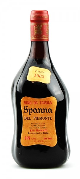 Wein 1983 Spanna Castello di Lozzolo Berteletti