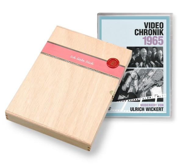 DVD 1965 Chronik Deutsche Wochenschau in Holzkiste
