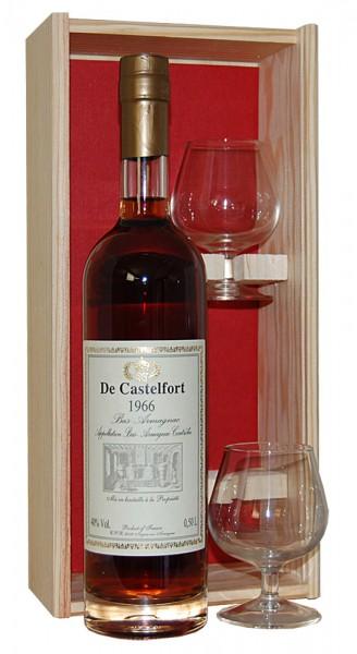 Armagnac 1966 Bas-Armagnac de Castelfort SET