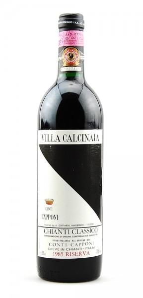 Wein 1985 Chianti Classico Riserva Conti Capponi