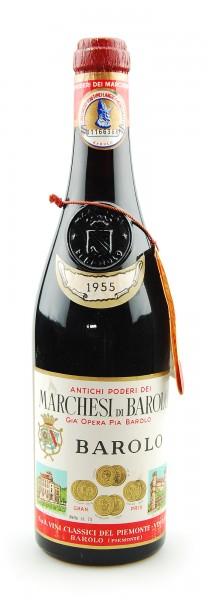 Wein 1955 Barolo Marchesi di Barolo Gia Opera