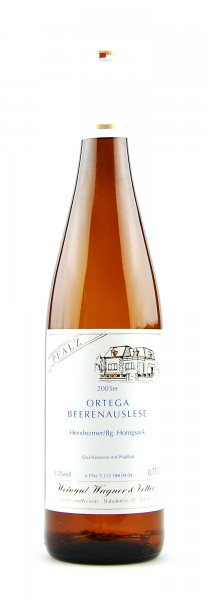 Wein 2003 Herxheimer Ortega Beerenauslese