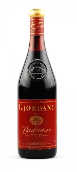 Wein 1983 Barbaresco Giordano