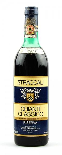 Wein 1977 Chianti Classico Riserva Straccali