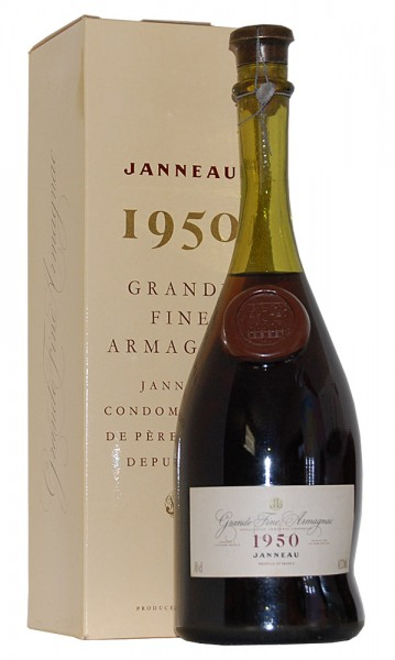 Armagnac 1950 Grande Fine Armagnac Janneau