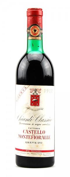 Wein 1968 Chianti Classico Riserva Montefioralle