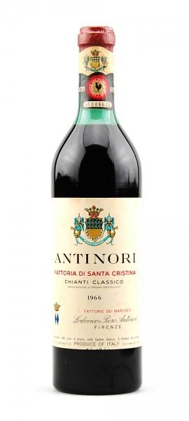Wein 1966 Chianti Classico Antinori Santa Christina