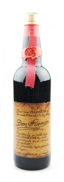 Wein 1972 Carinena Gran Vino Don Ramon