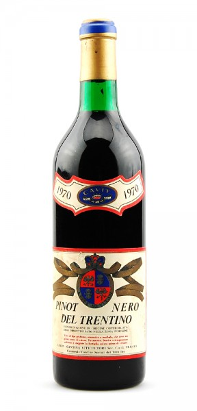 Wein 1970 Pinot Nero del Trentino Viticoltori